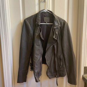 Muubaa Leather Motorcycle Jacket